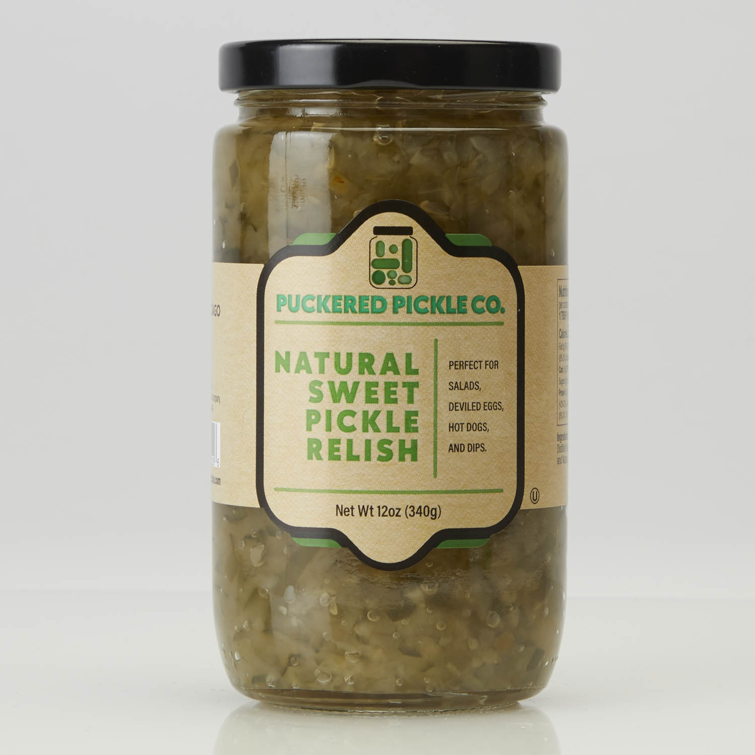 Sweet Pickle Relish 2 Pack Puckered Pickle Company